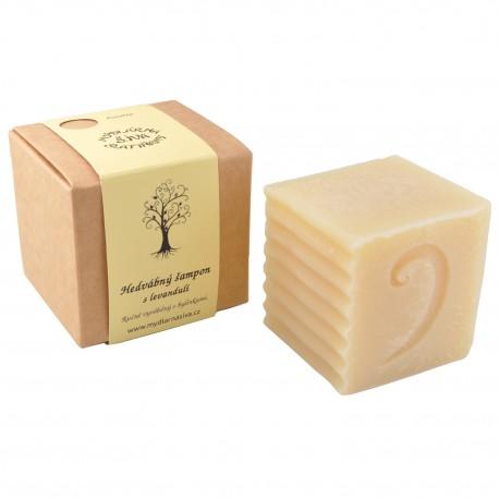 Hedvábný šampon s levandulí