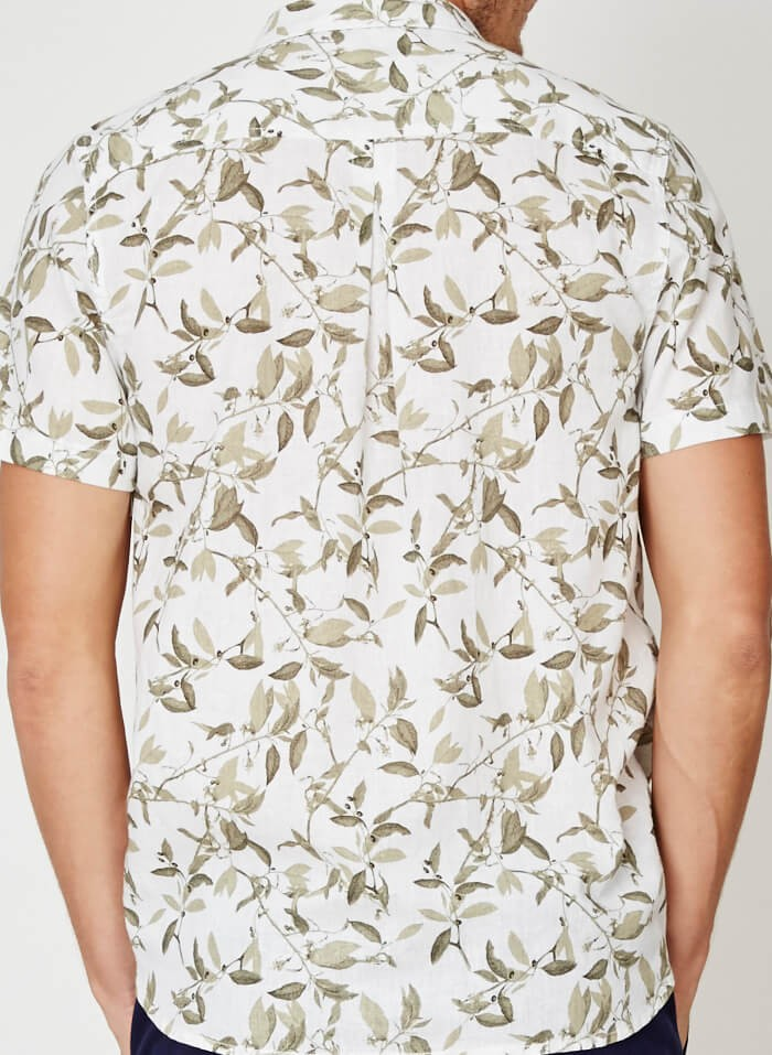 Konopná košile Oliv Branch Braintree Thought
