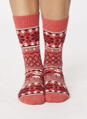 spw244-inga-wool-socks-raspberry-front-close-both-feet-spw244bluegrey