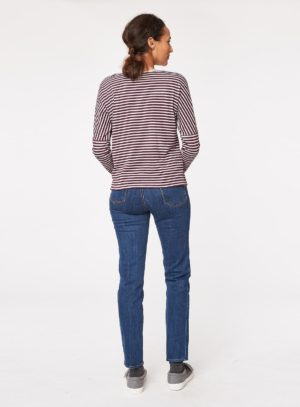 wwt3223-rothko-stripey-organic-cotton-pocket-tshirt-heather-back