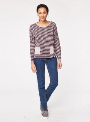 wwt3223-rothko-stripey-organic-cotton-pocket-tshirt-heather-front