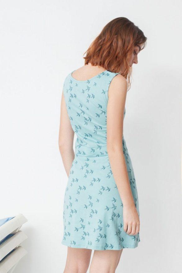 Šaty mila tyrkysové