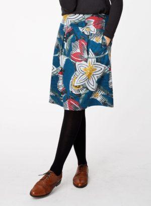 WWB3940-RIVER-BLUE--Dalloway-Tencel-Flower-Print-Skirt-0003.jpg