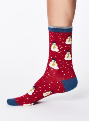 SPM341-CHRISTMAS-RED--Snowman-Christmas-Bamboo-Socks-for-Men-0007.jpg