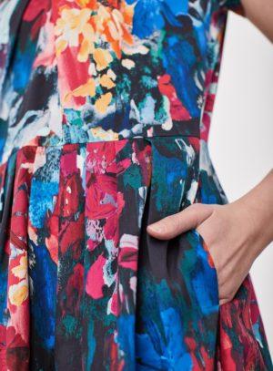 WWD3899-GARNET-PINK--Flower-Palette-Tencel-Floral-Pront-Dress-0008.jpg