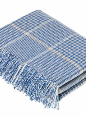 T0452-M07-Lambswool-Prince-of-Wales-Aqua-Camel-Throw