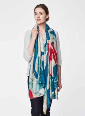 WAC3875-RIVER-BLUE--Charleston-Floral-Print-Bamboo-Scarf-0003.jpg