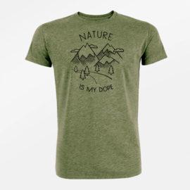 tričko příroda z bio bavlny