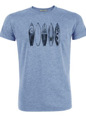 tričko se surfem