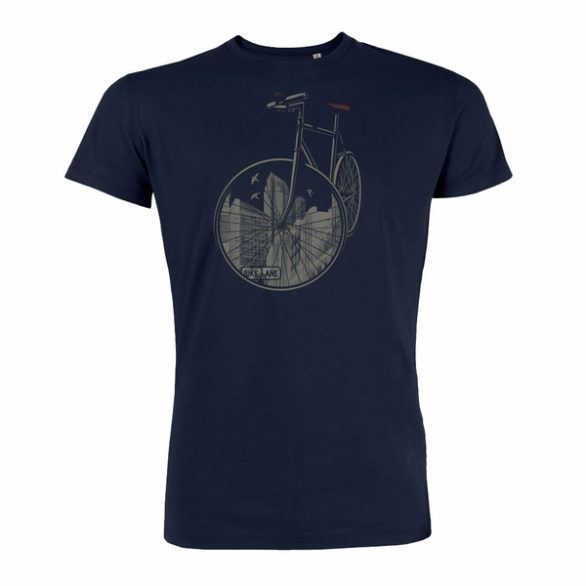 tričko bike city greenbomb