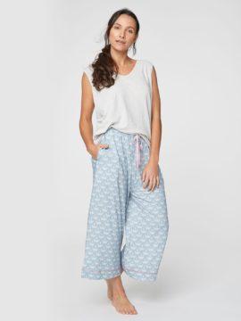 Pyzamove kalhoty z konopi a bio bavlny Shell Thought WSB4108 1