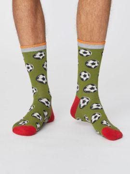 bambusove ponozky s fotbalovym micem thought SPM382 2