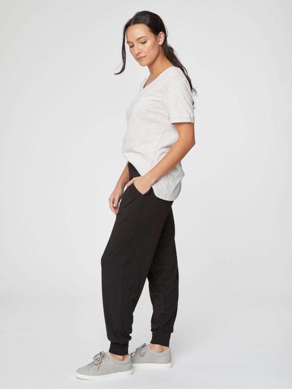 cerne volnocasove bambusove kalhoty dashka thougth WWB3690 5