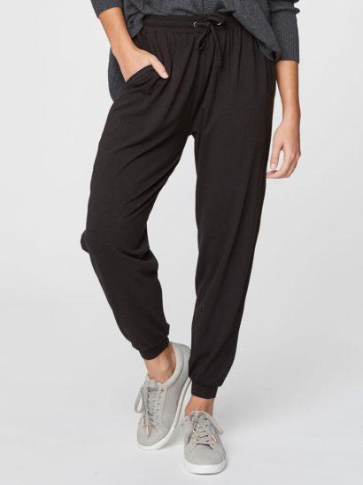 cerne volnocasove bambusove kalhoty emerson thougth WSB3548 3