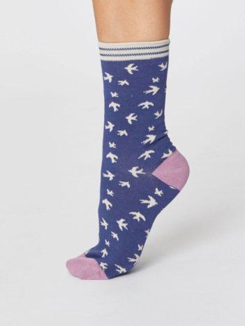 damske bambusove ponozky s vlastovkami thought SPW366 3