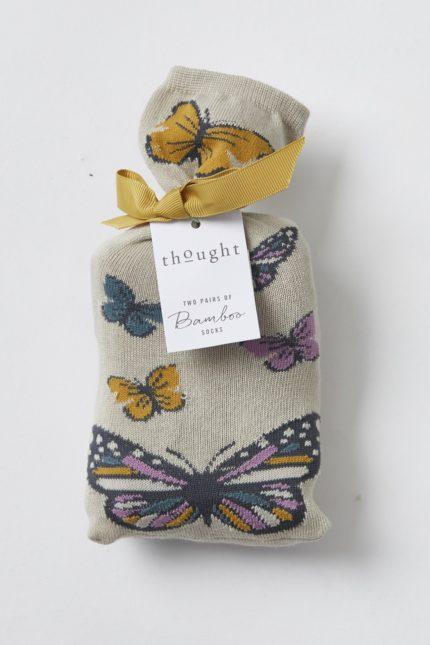 damske ponozky z bambusu a bio bavlny s motylky butterflies thought SBW4112 1.jpg