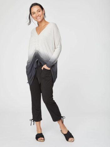 kalhoty na jogu sabine trictvrtecni thought WWB3737 1