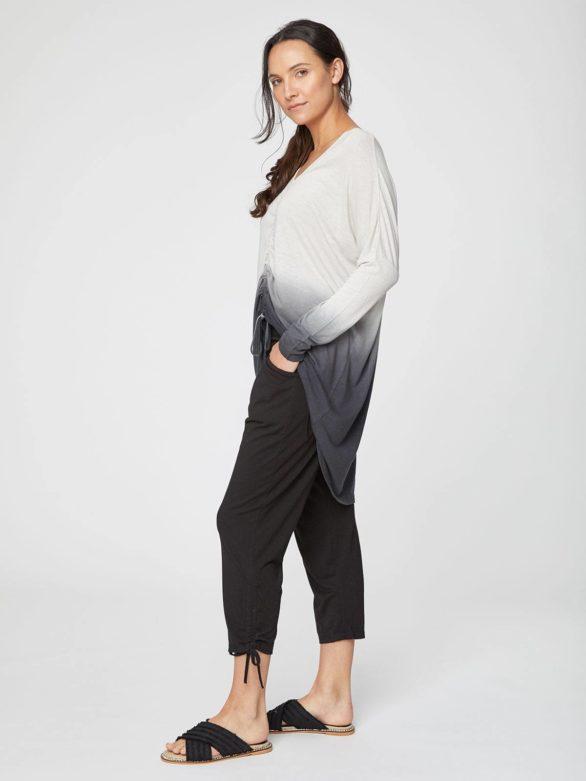 kalhoty na jogu sabine trictvrtecni thought WWB3737 5