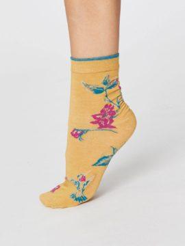 letni modalove ponozky birdy thought SPW349 3 zlute