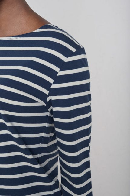 modry pruhovany namornicky top z bio bavlny sailor seasalt V1 WM16886_5