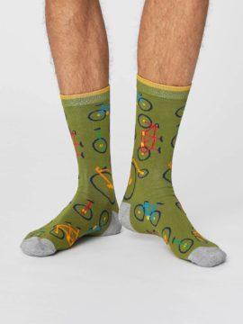panske bambusove ponozky s kolem bicycle zelene thought 2.jpg