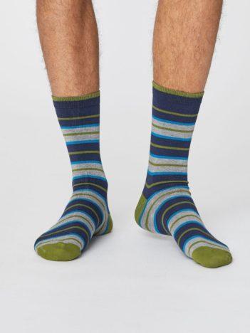 panske ponozky s prouzky z bambusu a bio bavlny thought SPM379 2.jpg