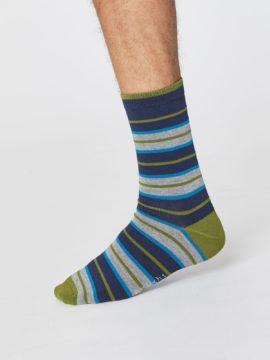 panske ponozky s prouzky z bambusu a bio bavlny thought SPM379 3.jpg