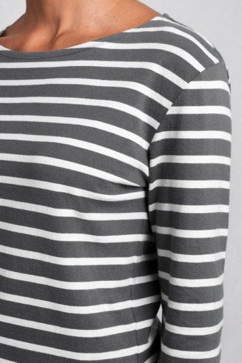 sedy pruhovany namornicky top z bio bavlny sailor seasalt V2 WM19939_5