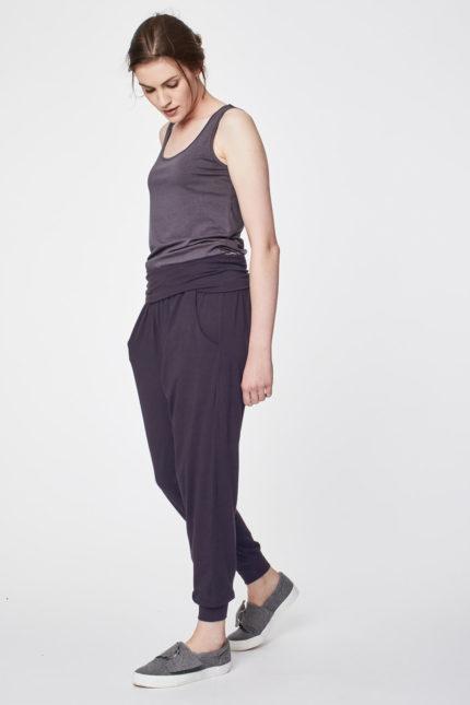 jógové kalhoty dashka šedé