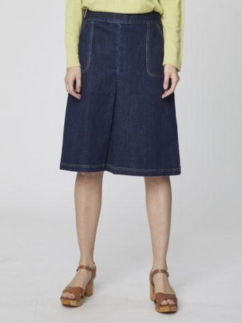 dzinova sukne