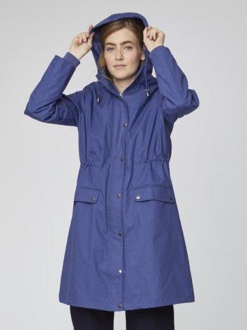 Nepromokavá bunda z bio bavlny Mariko