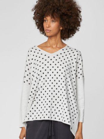 bavlneny svetr s puntiky s vlnou oriana thought3