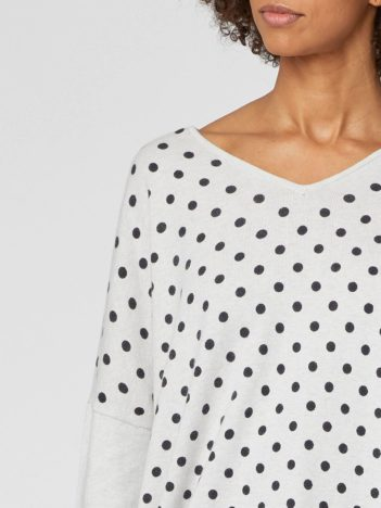 bavlneny svetr s puntiky s vlnou oriana thought6