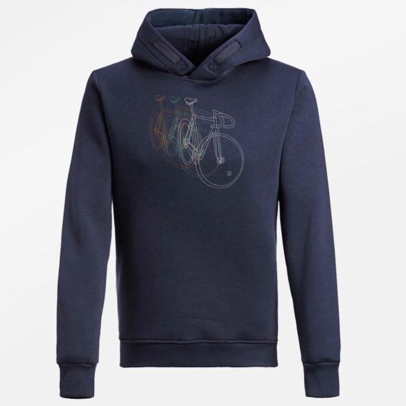 Mikina s kolem Bike Row bio bavlna