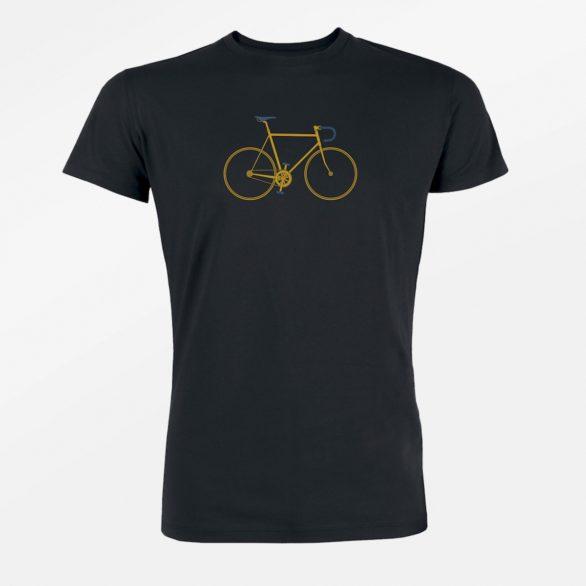 Bavlněné Tričko Bike Trip černé greenbomb