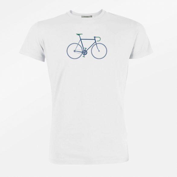 Tričko Bike Trip bílé greebomb