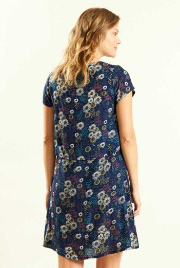 Vrstvené šaty Daisy modré
