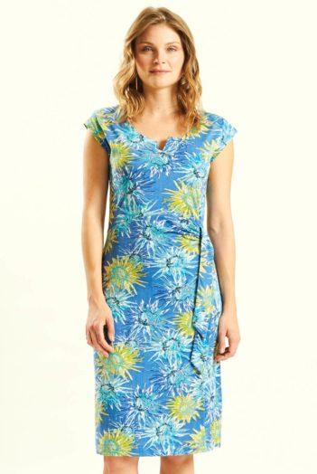 modre saty s kvety z bio bavlny nomads 2