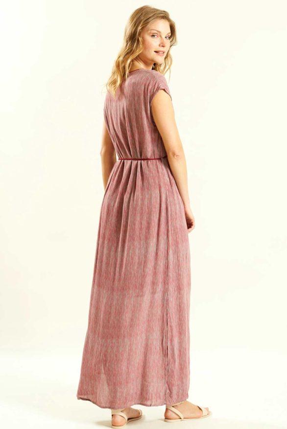 růžové maxi šaty nomads 3