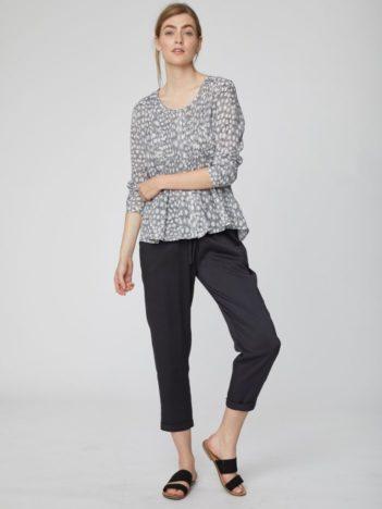 sede modalove kalhoty catherine thought