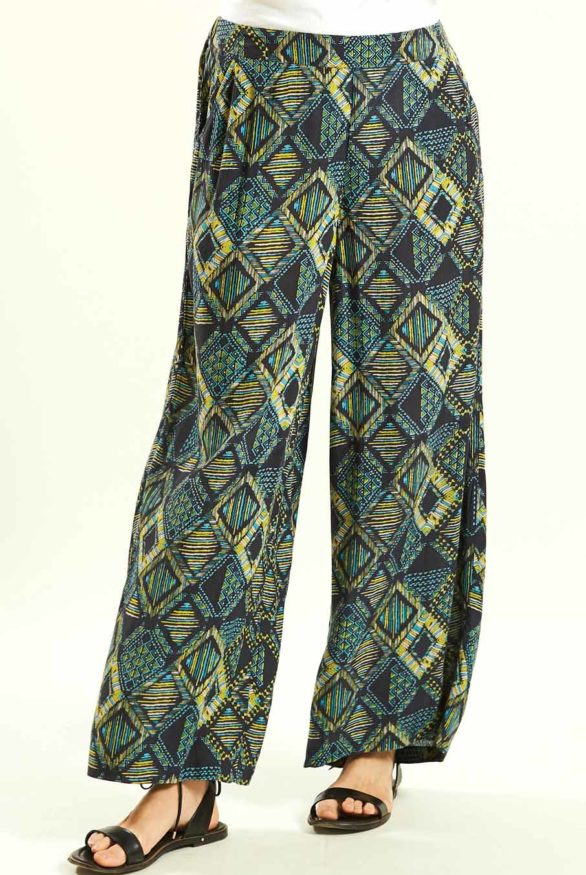 siroke kalhoty z viskozy nomads 2