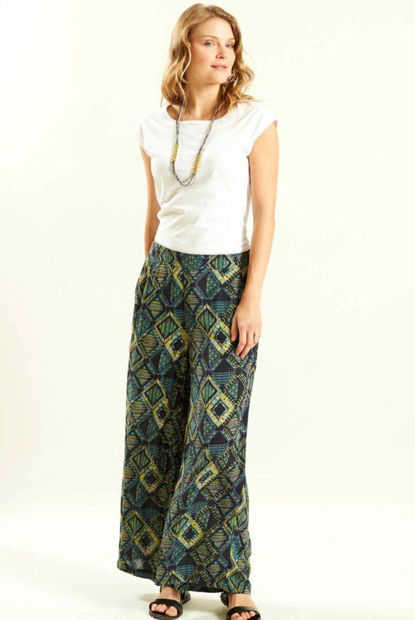 siroke kalhoty z viskozy nomads 4