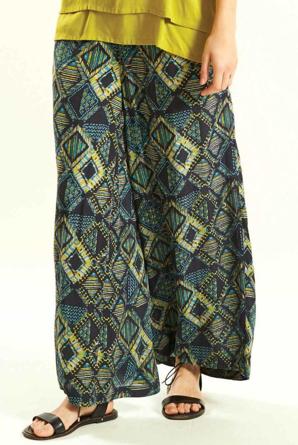 siroke kalhoty z viskozy nomads