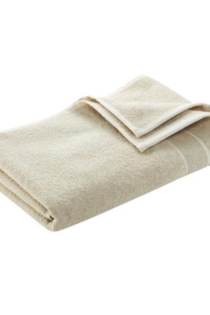 Ručník z bio bavlny a lnu Exeter
