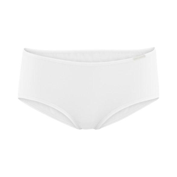 Kalhotky z bio bavlny Cindy bílé