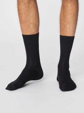 Bambusové ponožky Jimmy černé
