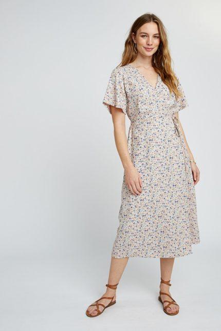 Tencelové maxi šaty Meghan