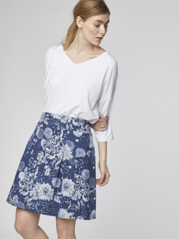 Konopná sukně s rayonem Kikii
