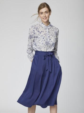 Modalová midi sukně Sandreen