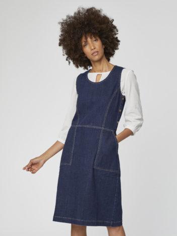 Džínové šaty z bio bavlny Koco